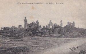 Les Ruines De Bailleul Beffroi Belfry French Old Postcard