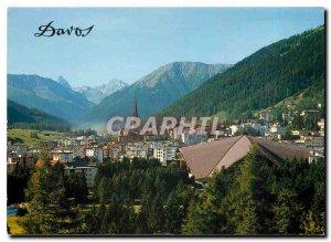Modern Postcard Davos
