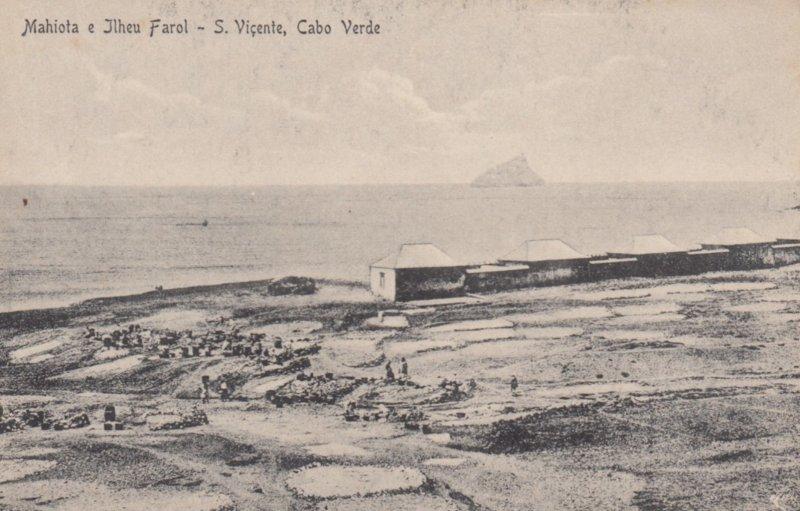 CAPE VERDE , 00-10s ; Mahiota e Ilheu Farol - S. Vincente