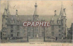 Old Postcard Nevers Ducal Palace