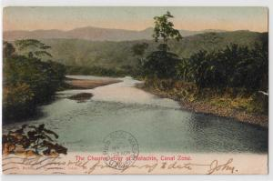 The Chagres river at Matachin, Canal Zone