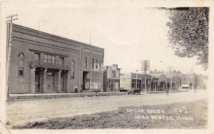 C78/ Lake Benton Minnesota Mn Real Photo RPPC Postcard 1922 Opera House Building