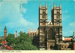 Postcard Westminster Abbey London England