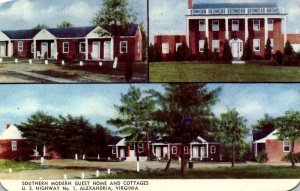 Virginia Alexandria Southern Modern Guest Home and Cottages
