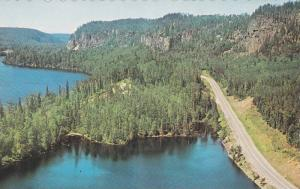 Scenic view, Canada's Wilderness,  Canada's Hwy, Ontario,  Canada,  40-60s