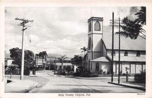 SUVA FIJI HOLY TRINITY CHURCH POSTCARD