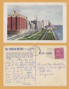 Chicago, ILL., The Conrad Hilton Hotel - 1955