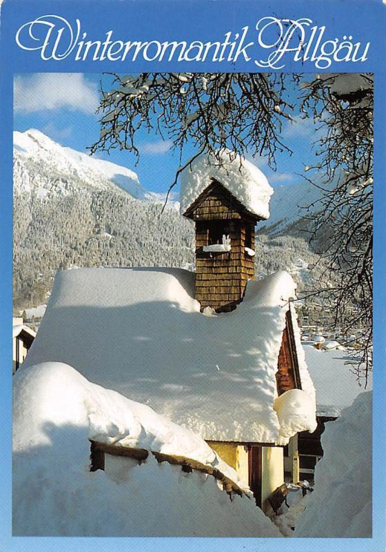 Winterromantik Allgaeu Kaplle Snowy Chapel