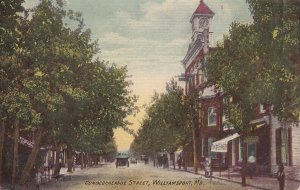 WILLIAMSPORT , Maryland , 1900-10s ; Conococheague Street