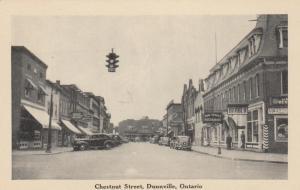 DUNNVILLE , Ontario ,1910-30s ; Chestnut Street