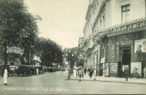 brazil, RIO DE JANEIRO, Avenida Rio Branco, Cinema Central (1920s)