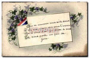 Fancy Old Postcard Whether it be sweet to remember