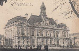 Tours (Indre-et-Loire), France, 1919 ; L'Hotel de Ville