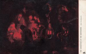 The Adoration of the shepherds , 1901-07 ; TUCK 913