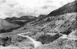 Upper Switchback Tensleep Canon Sanborn Wyoming Postcard 20-931