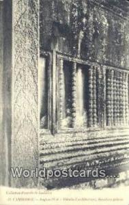 Cambodge Cambodia, Cambodge Angkor Wat, Details d'architecture, deuxieme gale...