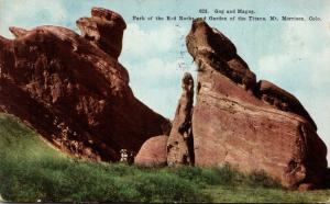 Colorado Gog and Magog Park Of The Red Rocks & Garden Of The Titans Mt Morris...
