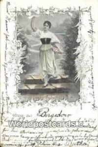 Gruss aus Bergedorf Germany, Deutschland Postcard Frohe Botschaft Gruss aus B...