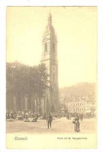 Eisenach, Markt mit St. Georgenkirche, Thuringia, Germany, 00-10s