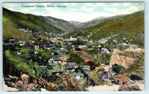 BISBEE, AZ Arizona   View up TOMBSTONE CANYON c1910s Mining Town   Postcard
