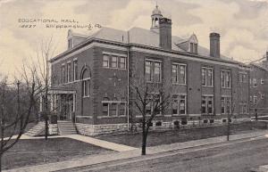 SHIPPENSBURG , Pennsylvania, 1900-10s ; Educational Hall