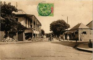 CPA Diego Suarez- Rue Flacourt MADAGASCAR (819982)