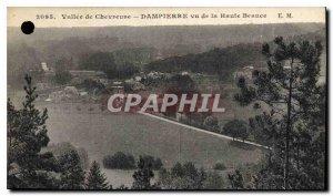 Old Postcard Valle de Dampierre Chevreuse seen Haute Beauce