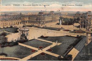 BR54093 Paris nouveau Jardin du louvre france