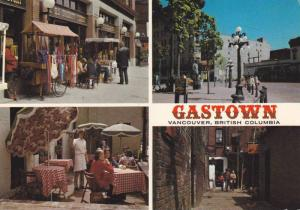 4 Street Views, Historic Shopping and Dining in Gastown, Vancouver, British C...