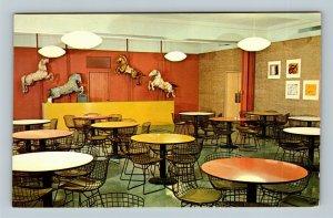 Chicago IL, The Art Institute, Junior Museum, Picnic Chrome Illinois Postcard