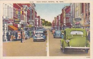 Tennessee Bristol State Street
