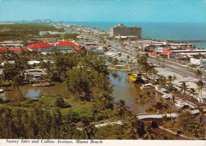 Florida Miami Beach Sunny Isles and Collins Avenue 1978