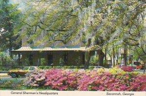 General Shermans Headquarters Savannah Georgia