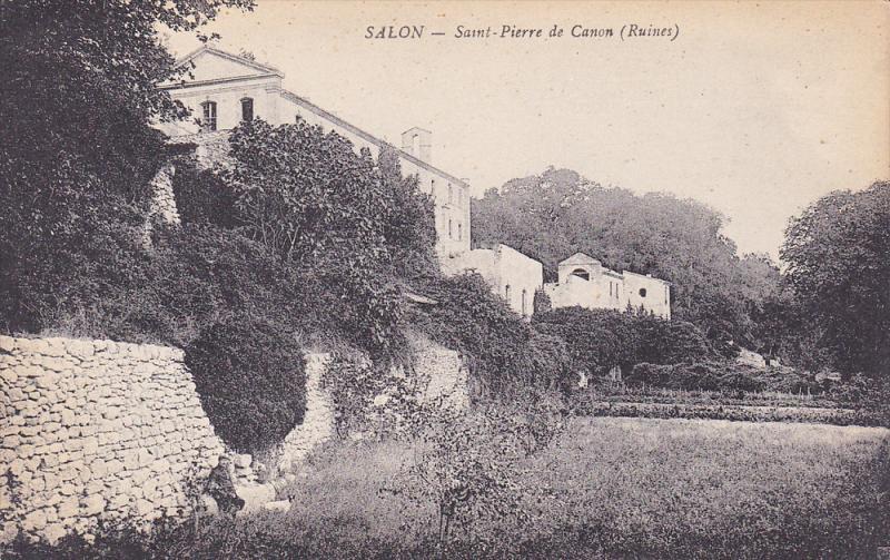 SALON , France , 00-10s ; Saint-Pierre de Canon