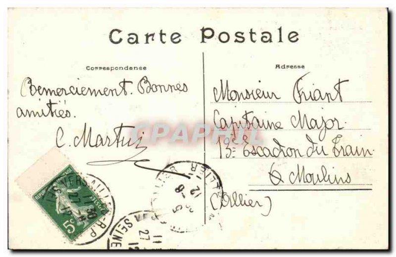 Old Postcard Versailles Diane Removal Cradle Proserpine