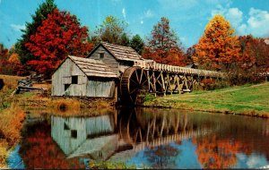 Virginia Blue Ridge Parkway Mabry Mill