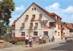 Hotel Pension Adler Metzgerei neuzeitl Fremdenzimmer Auto Vintage Car
