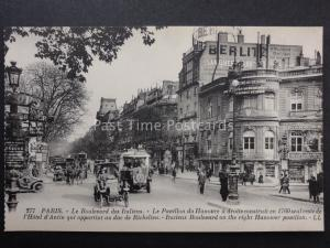 France PARIS Le Boulevard des Italiens LL.277 by Levy early 1900's