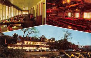 Old Lyme Connecticut Ferry Tavern Hotel Vintage Postcard J60659