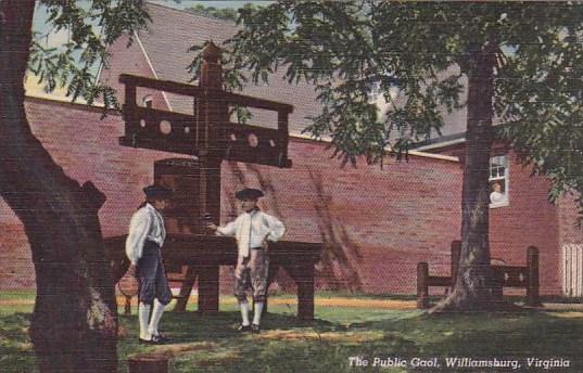 The Public Gaol Williamsburg Virginia