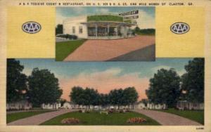 A & A Tourist Court & Restaurant Claxton GA Unused