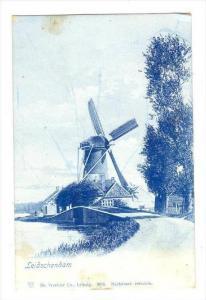 Leidschendam  , Netherlands, 1890s-1905 windmill