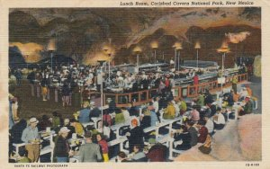CARLSBAD CAVERNS , New Mexico, 1930-40s; Lunch Room