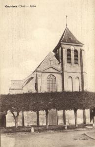 CPA GOUVIEUX - Église (130860)