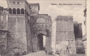 Porta Urbica Etrusca O Di Augusto, Perugia (Umbria), Italy, 1900-1910s