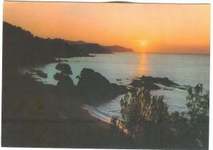Spain, Costa Brava, Playa Santa Cristina, The Cristina Saint Beach used Postcard