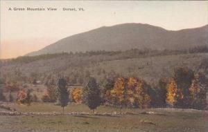 Vermont Dorset A Green Mountain View Albertype