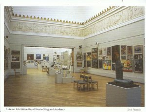 Bristol Postcard - Autumn Exhibition  - Royal West of England Academy  AB793
