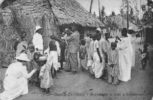 German East Africa Tanzania Einheimische, Native People, Postkarte, Postcard
