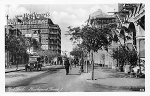 Egypt Port-Said Boulevard Fouad I, Drink Apollinaris Eastern Exchange Hotel 1936